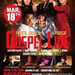 [終了]【2018.03.18 SUN】PAUSA & Pencil Bunch Gospel Live